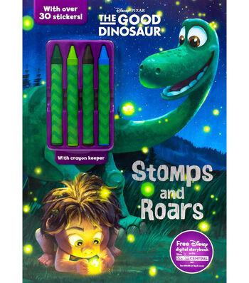 Parragon Disney Pixar The Good Dinosaur Stomps & Roars Activity Book