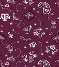 Texas A&M University Aggies Cotton Fabric 43\u0022-Bandana