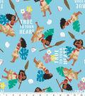 Disney Moana Cotton Fabric -True to Your Heart