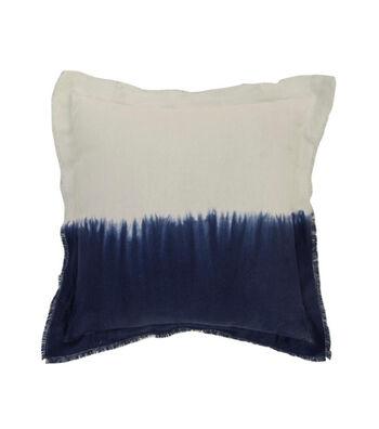 "Indigo Mist 18""x18"" Ombre Pillow"