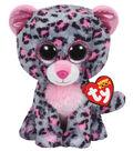 Ty Beanie Boos Tasha the Leopard Medium Plush