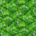 Seattle Seahawks Flannel Fabric 42\u0022-Tie Dye