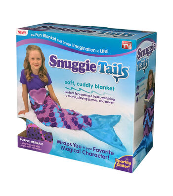 As Seen on TV Snuggie Tails-Mermaid