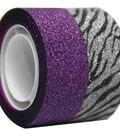 Seal-It 2 pk Glitter Tapes 3/4\u0027\u0027x300\u0027\u0027-Purple & Zebra