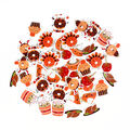 Little Makers Thanksgiving 45 pk Foam Stickers-Food