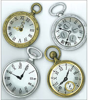 Jolee's Boutique Parcel Dimensional Stickers-Vintage Pocket Watches, , hi-res