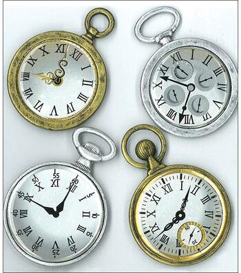 Jolee's Boutique Parcel Dimensional Stickers-Vintage Pocket Watches