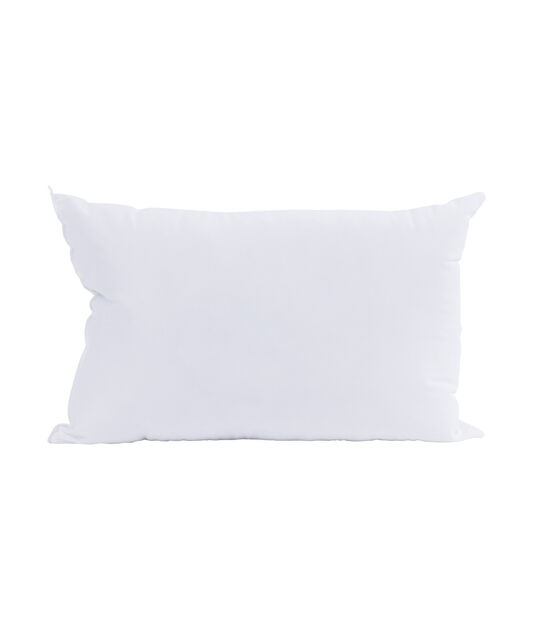 Weather Soft Pillow 100 Polyester Filling 12 X 18 Rectangle