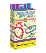 Creativity for Kids Dream Catcher Bracelet Kit, , hi-res