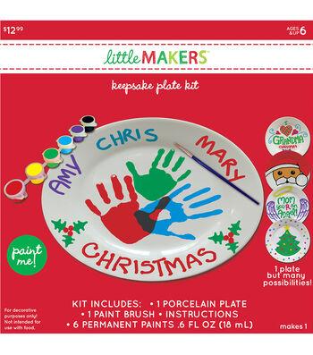 Little Maker's Keepsake Plate Kit