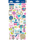 Doodlebug Design Hello Cardstock Stickers with Foil Accents-Icons
