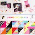 Park Lane 36 pk 12\u0027\u0027x12\u0027\u0027 Premium Printed Cardstock Stack-Rainbow Splash