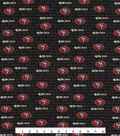San Francisco 49ers Cotton Fabric 58\u0022-Mini Print