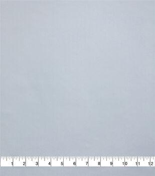 Silky Solids Stretch Chiffon Fabric-White