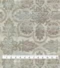 Waverly Multi-Purpose Decor Fabric 54\u0027\u0027-Silver Curator\u0027s Gem