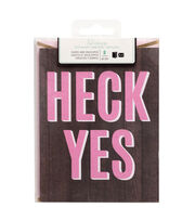 Heidi Swapp Stationery A2 Heck Yes, , hi-res