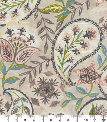 Kelly Ripa Home Upholstery Fabric 54''-Oyster Happy Hour