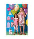 McCall\u0027s Pattern -M7148-CHJ Girls\u0027 Tops, Dresses, Shorts and Capris-7-14