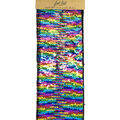 Fab Lab Craft 9\u0022x12\u0022 Sequin Sheet-Rainbow