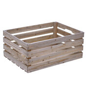 Fab Lab Extra Large Wood Crate, , hi-res