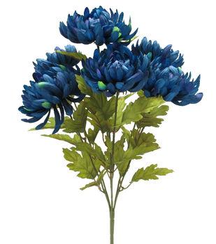 Blooming Autumn 20'' Mum Bush-Dark Blue