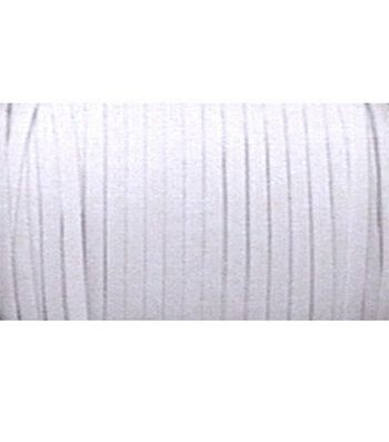 "Braided Elastic 1/4"" Wide 144 Yards-White"