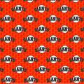 San Francisco Giants Cotton Fabric -Mini Print