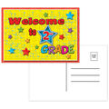 Postcards Welcome to 2nd Grade - 30 per pack, 12 packs total