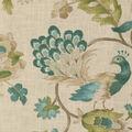 Jaclyn Smith Multi-Purpose Decor Fabric 54\u0027\u0027-Watercolor Peacock