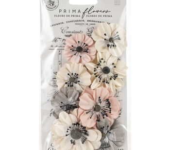 Prima Marketing Mulberry Paper Flowers-Simplify/Spring Farmhouse