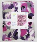 No Sew Fleece Throw 72\u0022-Vistamesa Nagoya Orchid