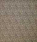 Premium Quilt Cotton Fabric-Packed Leaves Cream