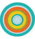 Karen Burniston Dies-Circles Crosshatch 1.125\u0022 To 4.125\u0022