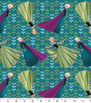 Disney Cotton Fabric-Frozen Coronation Day