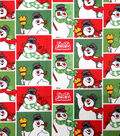 Frosty the Snowman Cotton Fabric-Block
