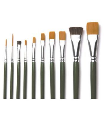FolkArt  One Stroke 10 pk Brushes