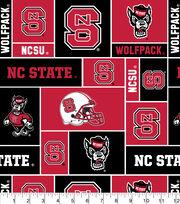 "North Carolina State Wolfpack Fleece Fabric 58""-Block, , hi-res"