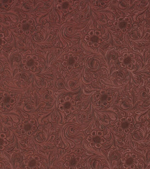 Richloom Studio Upholstery Vinyl Fabric-Diviani Marinara