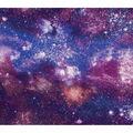 Super Snuggle Flannel Fabric-Purple Galaxy