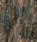 Novelty Cotton Fabric 43\u0022-Bark Texture