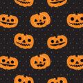 Maker\u0027s Halloween 60\u0027\u0027 Round Tablecloth-Jack-o\u0027-lantern Pumpkins