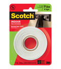 Scotch Mounting Tape White Roll