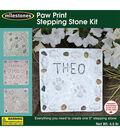 Milestones Paw Print Mosaic Stepping Stone Kit