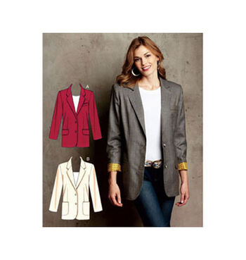 Kwik Sew Misses Jacket-K3715