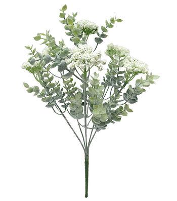 Fresh Picked Spring 13'' Berry Bush-White