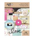 Art-C Ephemera Collage Pack-Word Play