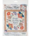 Design Works Crafts 10\u0027\u0027x10\u0027\u0027 Counted Cross Stitch Kit-Trust in the Lord