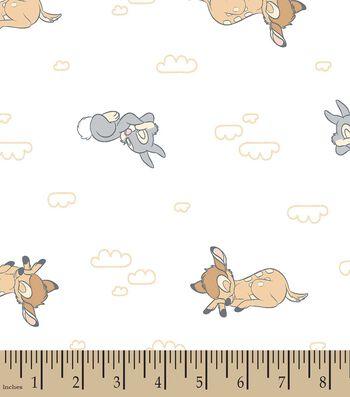 Disney Sweet Dreams Bambi Print Fabric