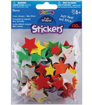 Darice Foam Stickers Mini Stars, , hi-res