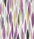 Home Essentials Upholstery Fabric 45\u0027\u0027-Bits & Pieces Plum